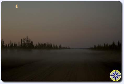 foggy dempster highway