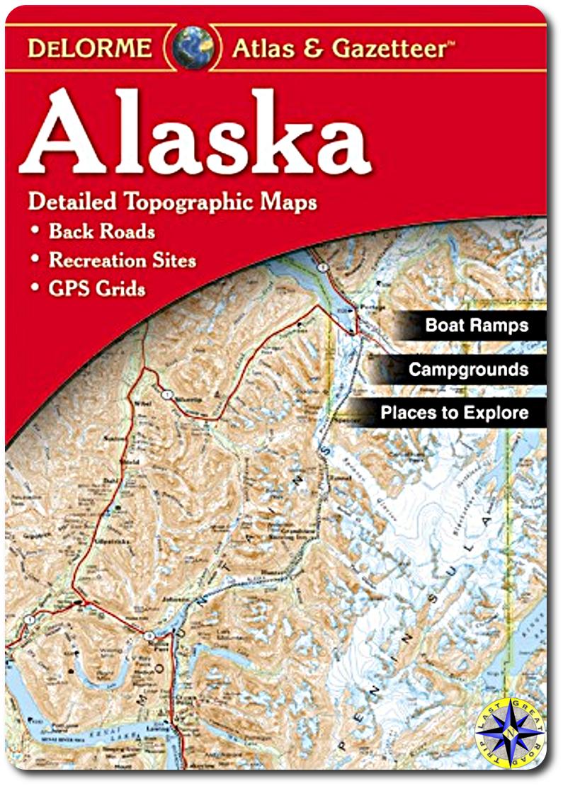 delorme alaska atlas cover