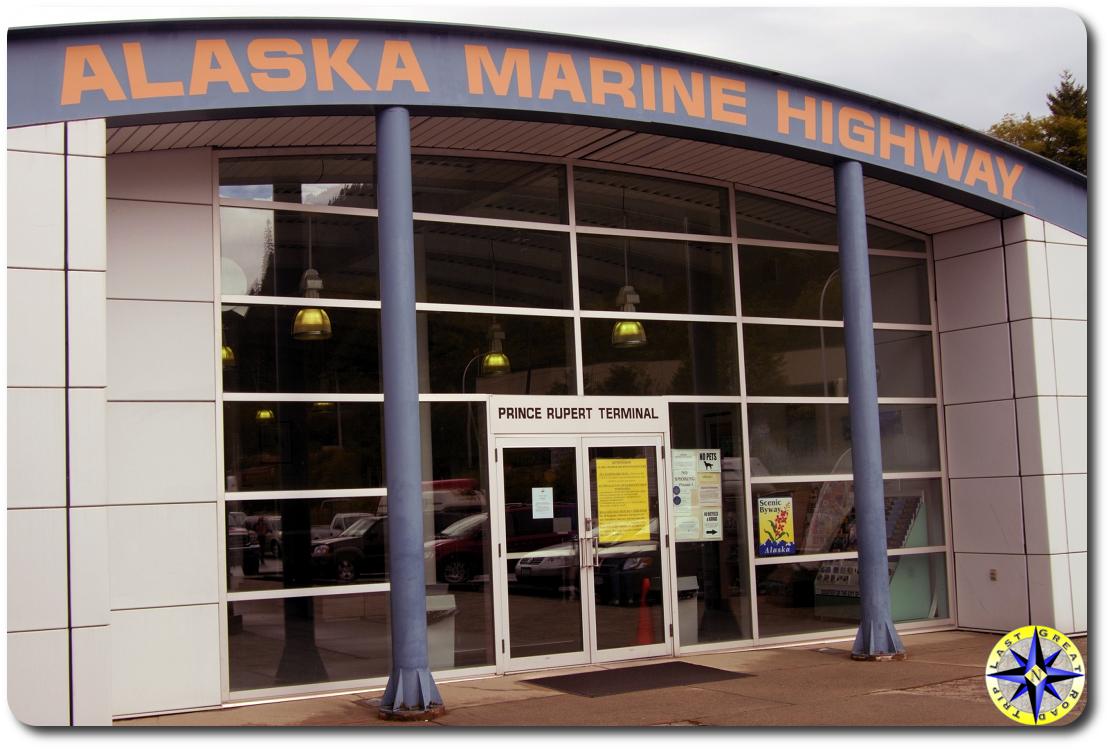 prince rupert alaska marine highway terminal