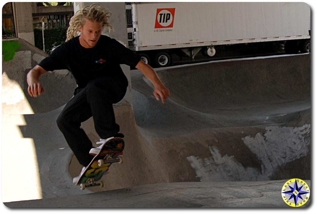 tosh townend burnside skate park