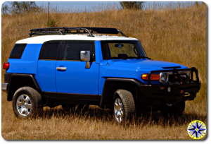 lifted toyota fj cruiser arb bumper