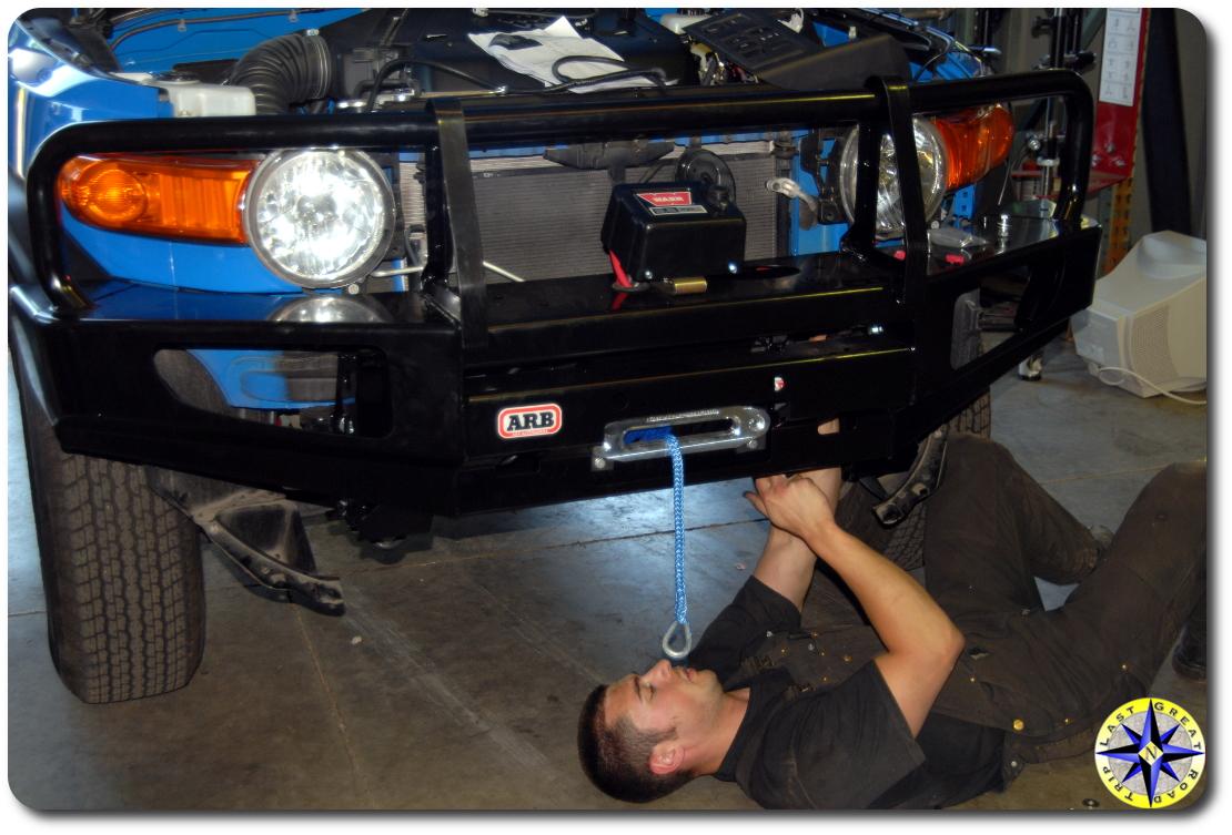travis lt metal tech arb bumper install