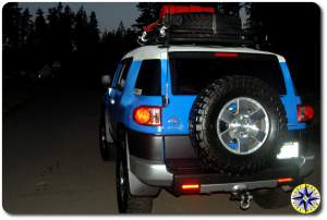 fj cruiser leaving 0 dark thrity