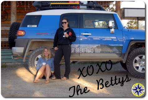 FJ Cruiser and the bettys