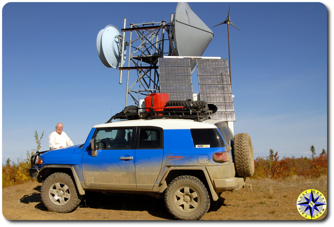 arctic circle weather station