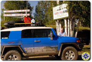 fj cruiser north pole alaska