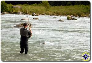 salmon fishing haines alaska