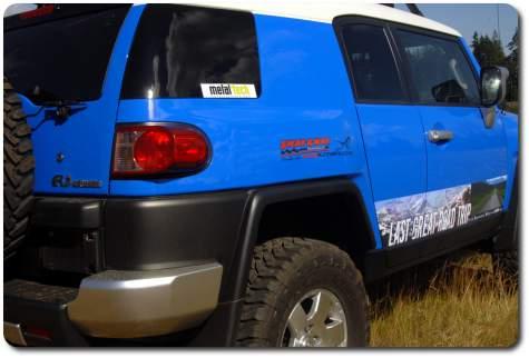 voodoo 2007 toyota fj cruiser