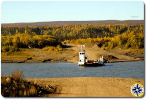 ferry crossing dempster highway