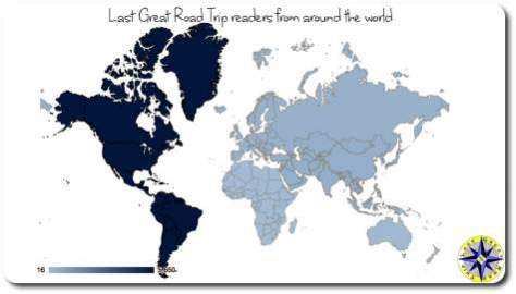 website reader location map