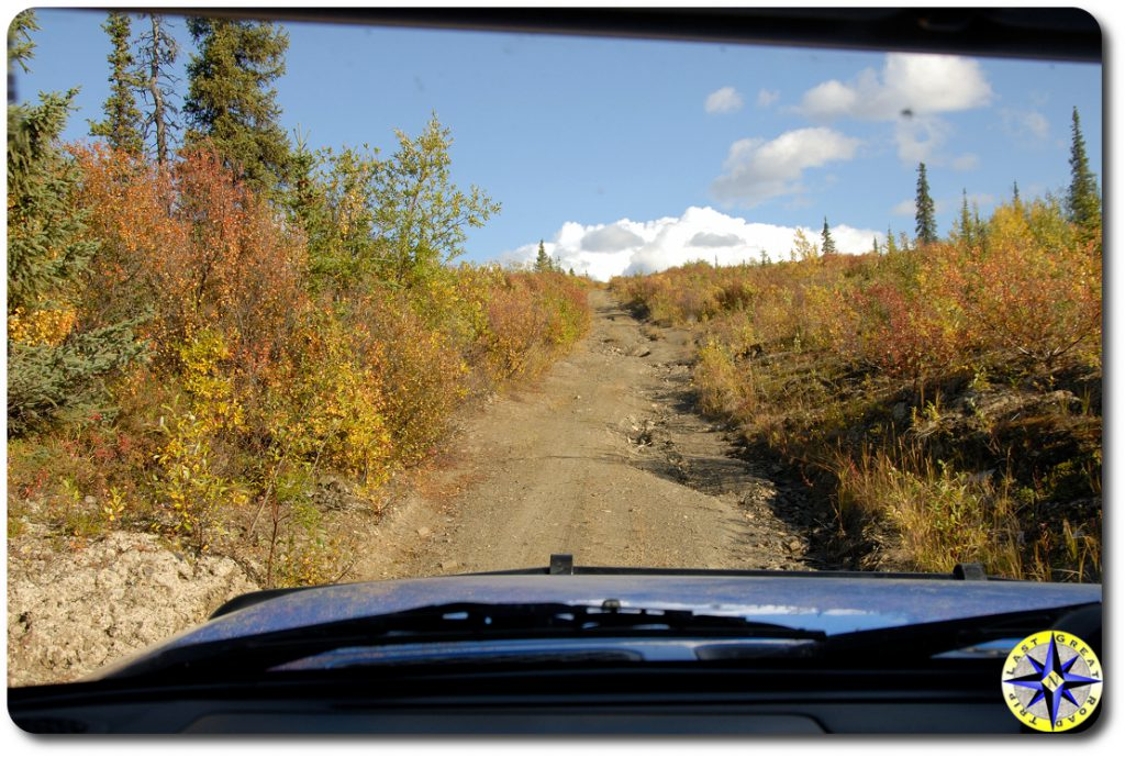 view of alaska 4x4 trail