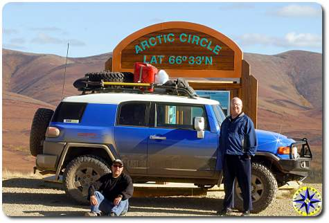 arctic circle sign fj cruiser