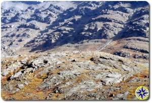 rugged alaska brooks range foot hills