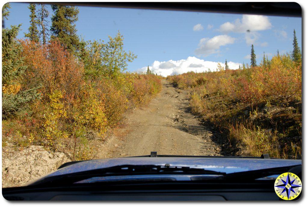view of alaska 4x4 trail