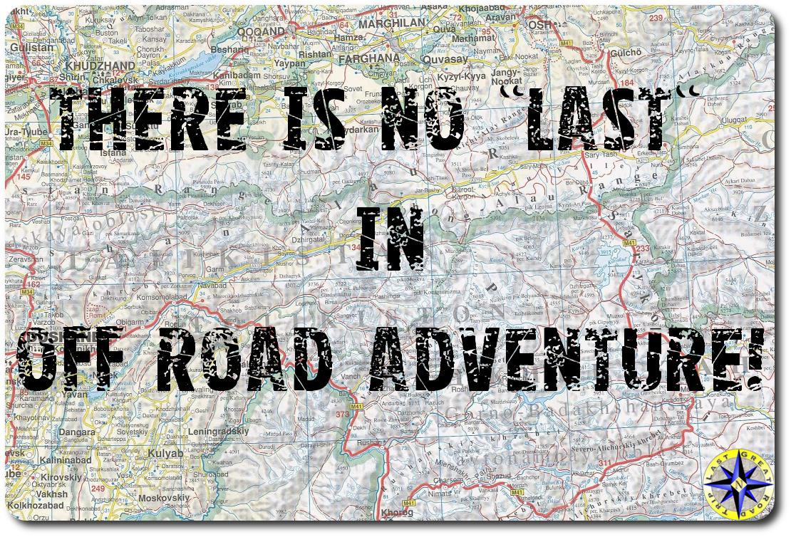 last off-road adventure Map