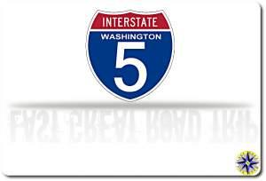 I-5 WA sign