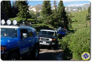 fj cruiser colorado 4x4 trail