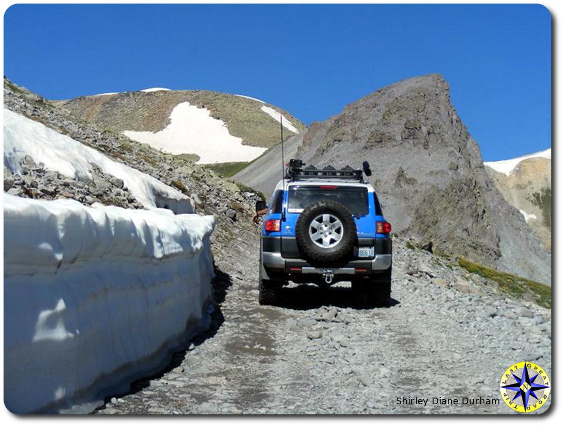 snow 4x4 trail fj cruiser