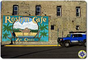 roslyn cafe an oasis fj cruiser