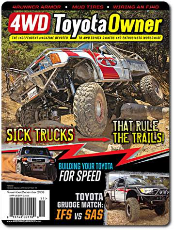 4wd toyota owner Nov Dec 09 cover