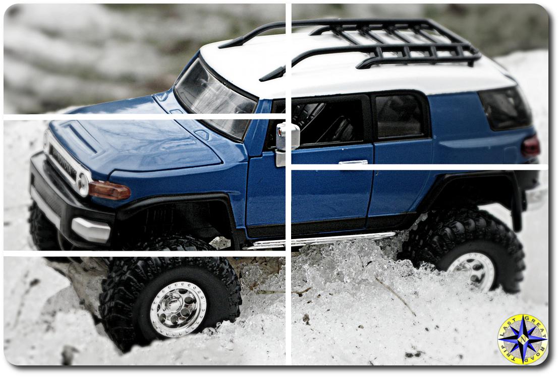 fj cruiser scale model