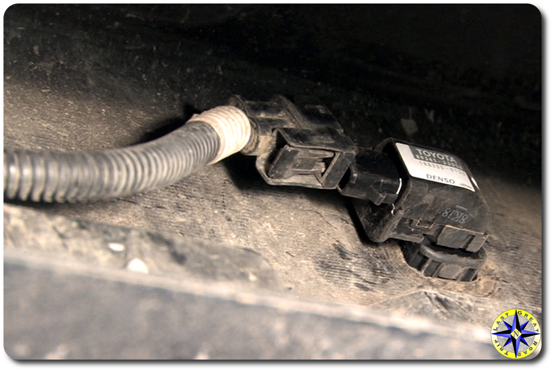 fj cruiser backup sensor wire connector