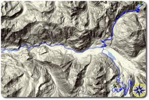 mount baker off road adventure topo map