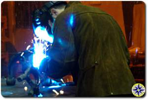 LT welding on fj cruiser knuckle gusset