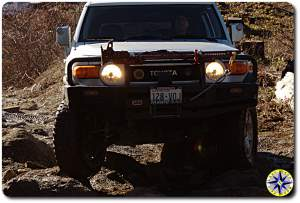 other pauls silver fj cruiser tuhya forest