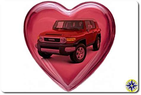 fj cruiser heart
