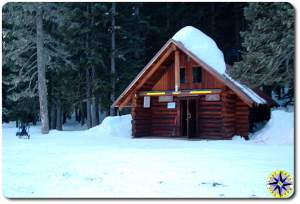 government meadow ulrich cabin snow