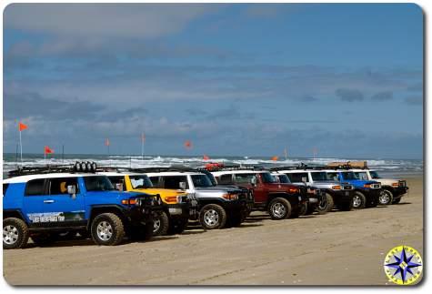 fj cruisers ocean beach lineup