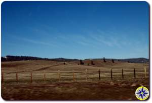 eastern washington fence line