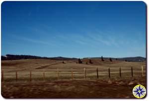 eastern washington fence line