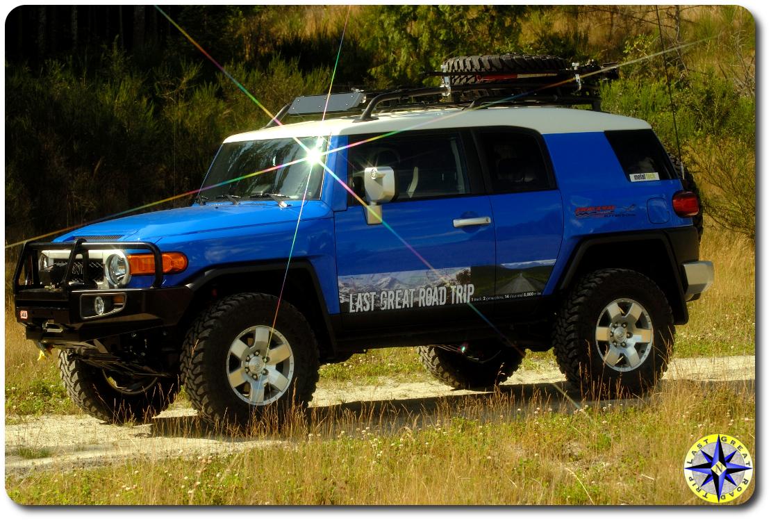 2007 toyota fj cruiser field arb bumper