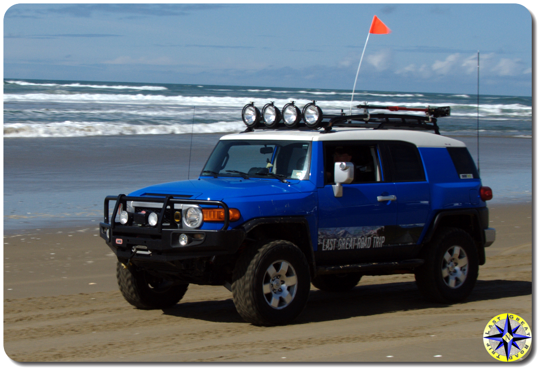 arb bumper fj cruiser beach