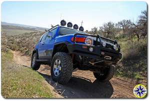 toyota fj cruiser ARB bull bar the slabs