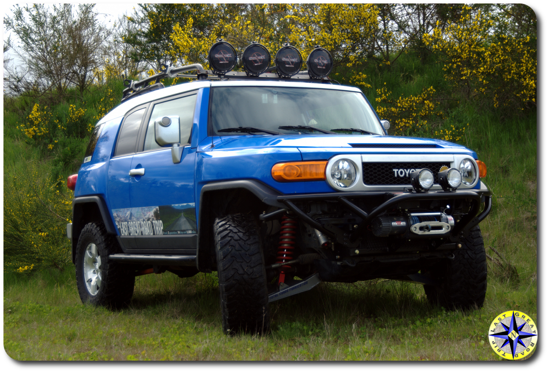 Fj Cruiser Tube Bumper : Metal tech front tube bumper review overland