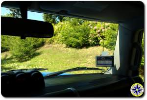 garmin car gps fj cruiser winshield mounted