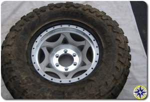 tire on walker evens beadlock wheel