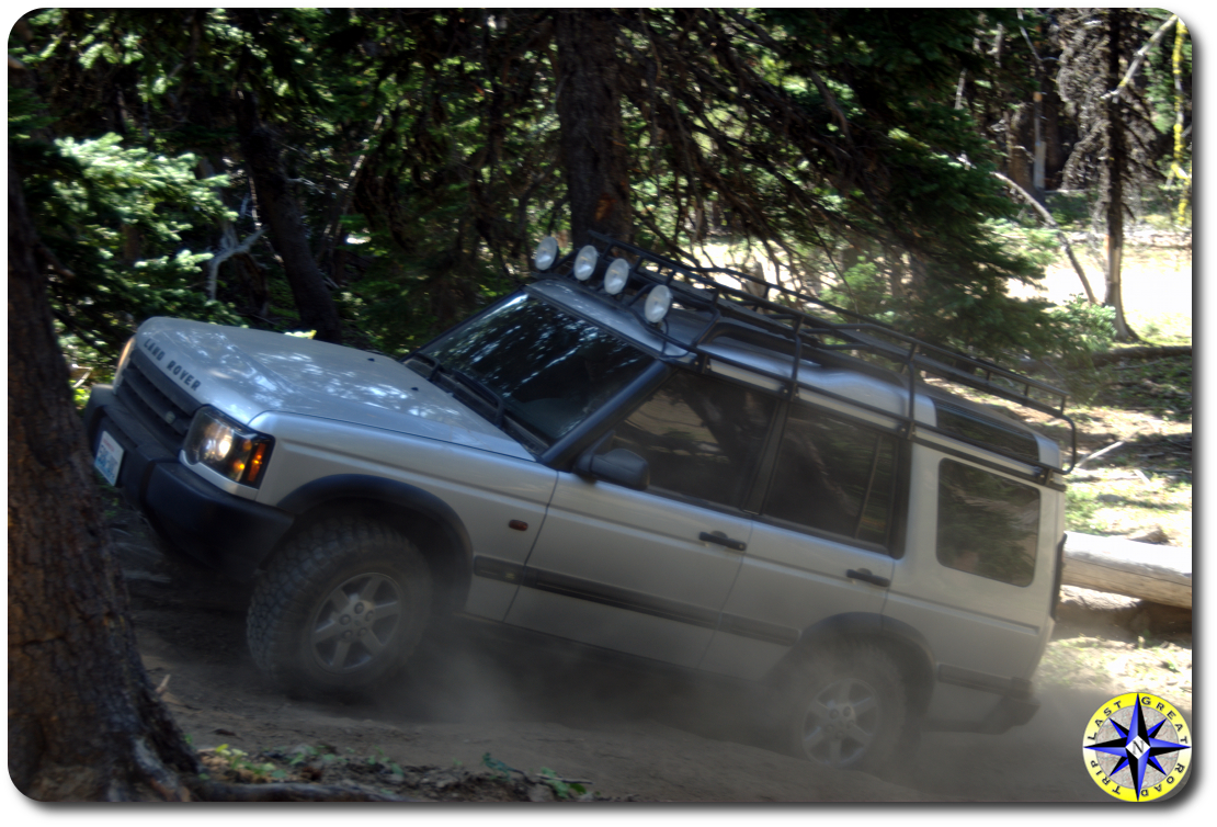 land rover discovery 4x4 hill climb