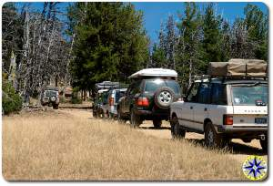 nw overlander range rovers 4x4 trail