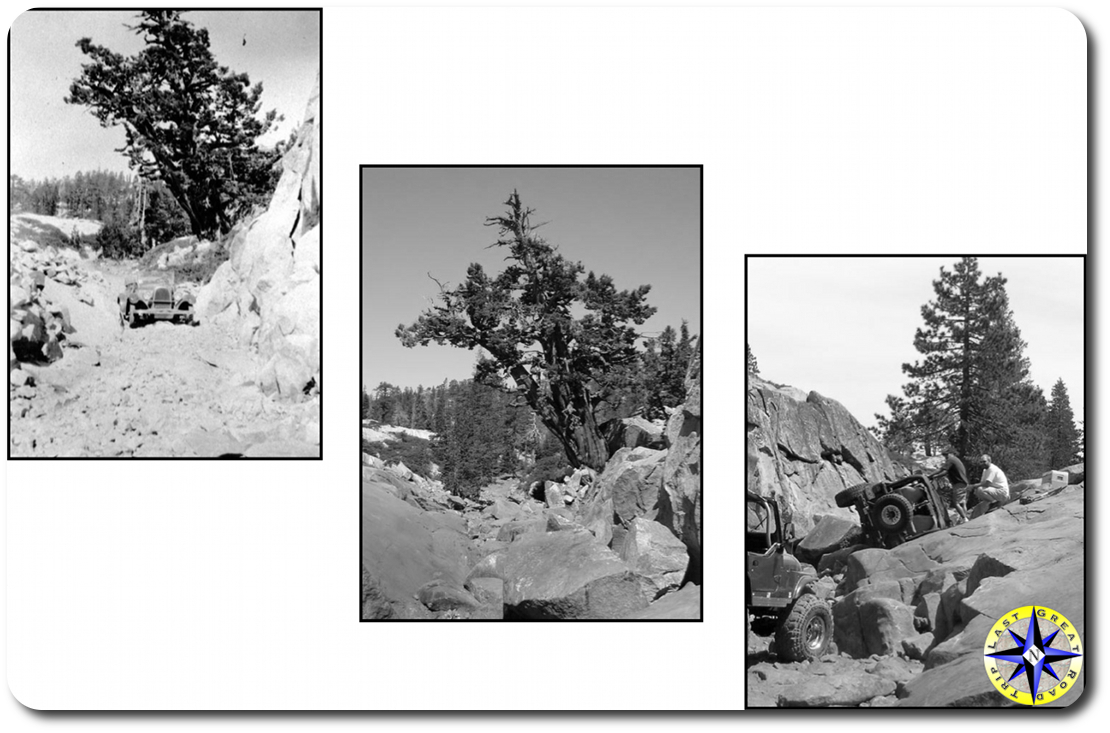 Little Sluice rubicon trail over time