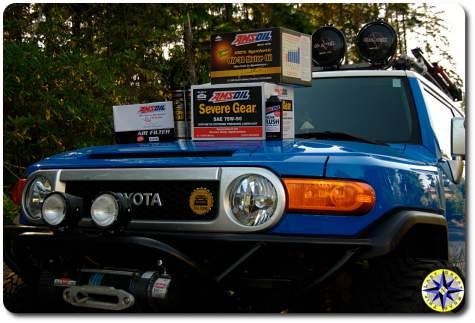 amsoil products for fj cruiser
