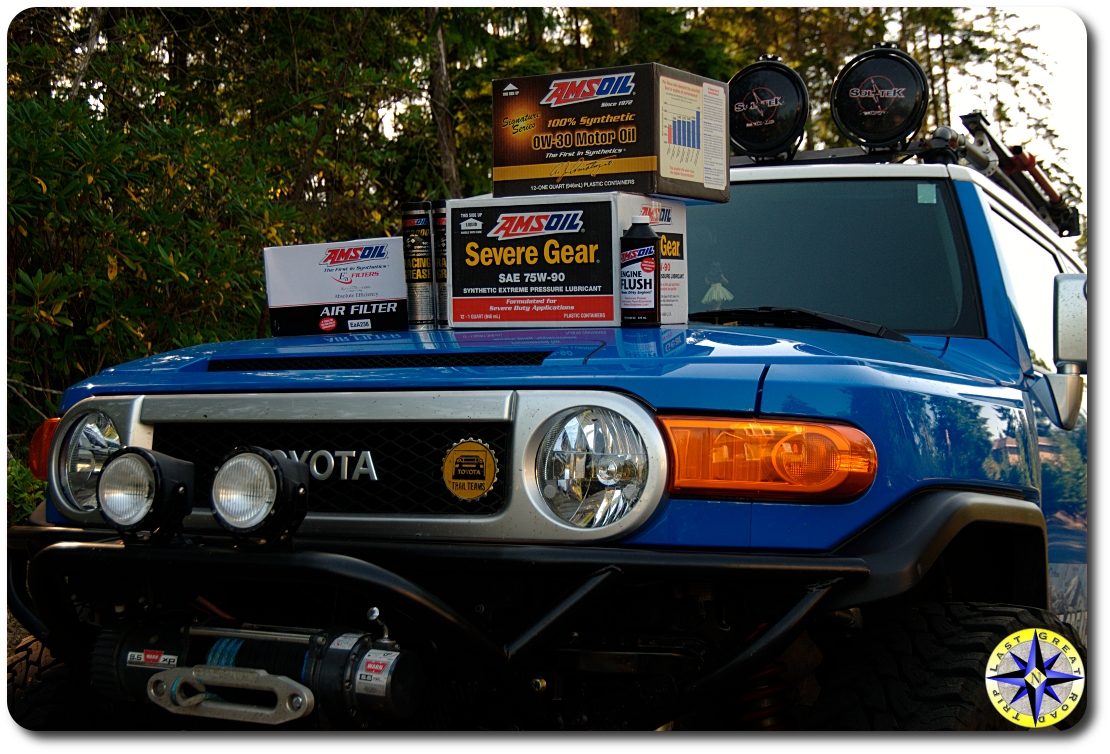 amsoil products for fj cruiser · how to maintenance