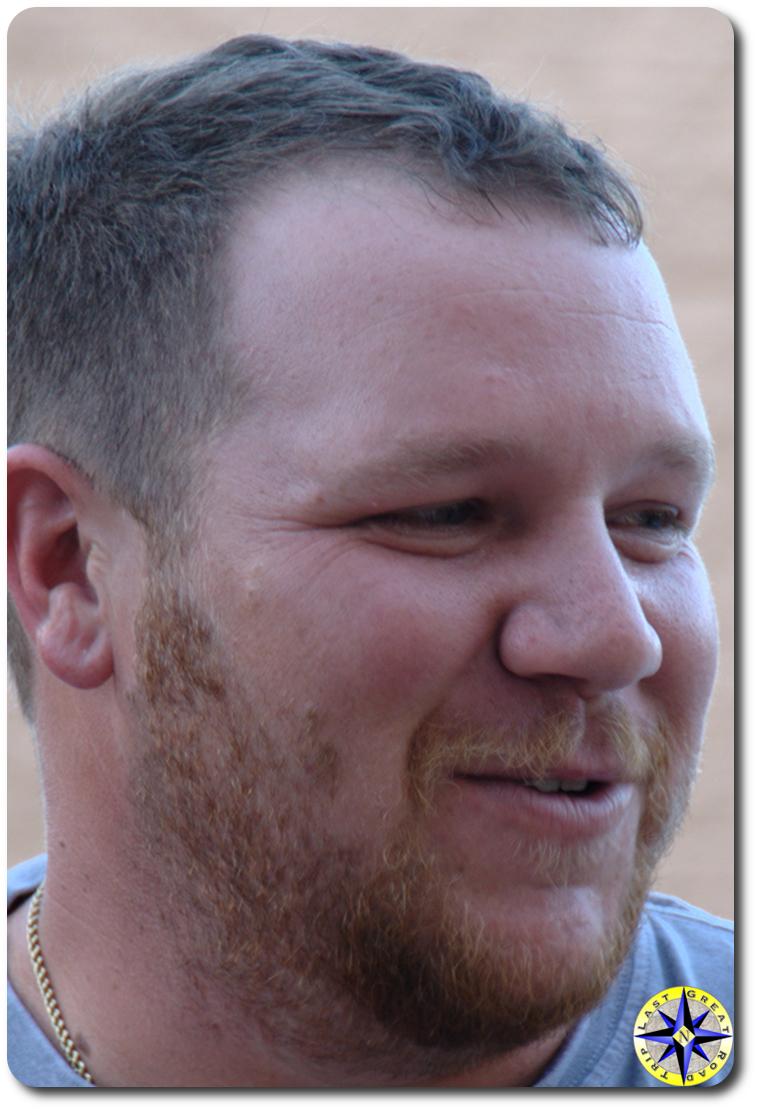 close up man face - Nick