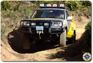 toyota 100 series 4x4 trail