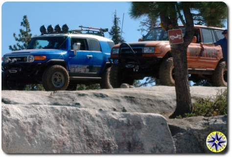 fj cruiser fj80 rubicon trail