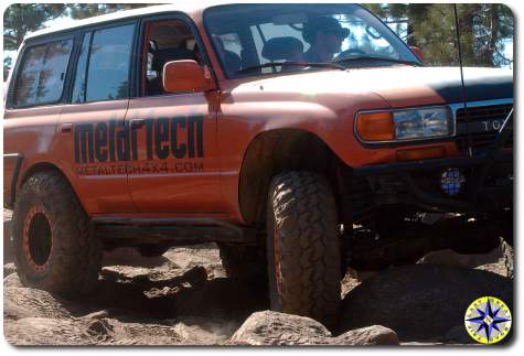 metal tech 4x4 fj 80 land cruiser rubicon trail