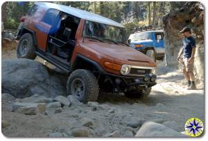 metal tech fj cruiser Big Sluice rubicon trail